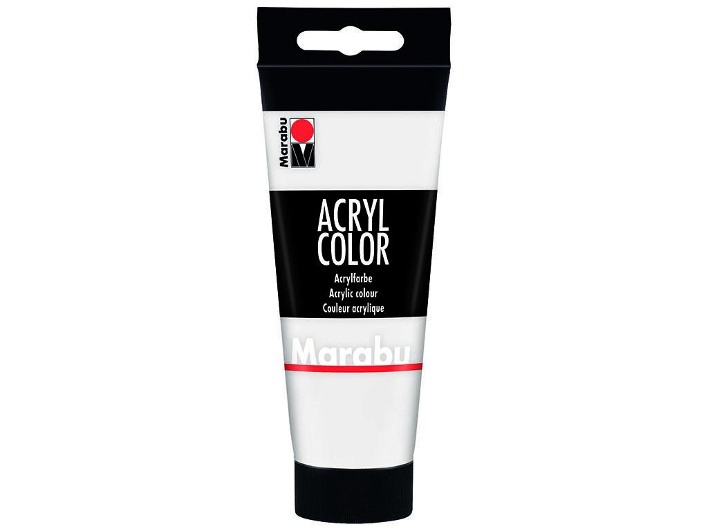 Akrila krāsa Marabu 100ml 070 white