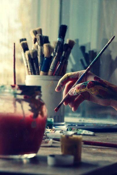"""No 08.10. """"Eļļas glezniecība iesācējiem""""/ PIEKTDIENĀS 11.00-14.00"""