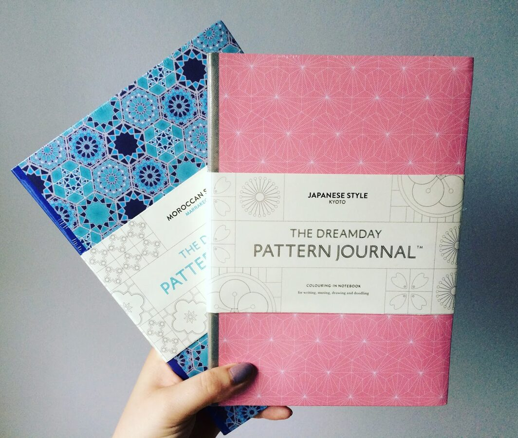 Piezīmju grāmata The dreamday pattern journal Kyoto Japanese style