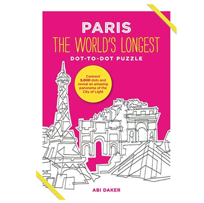 Paris the World's Longest Dot-To-Dot