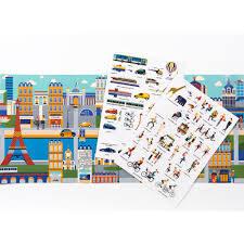 Uzlīmju grāmata: Stickyscape Paris