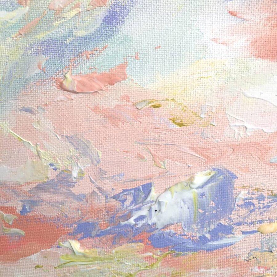 Akrila krāsu  komplekts LIELĀ ABSTRAKCIJA /pasteļtoņos
