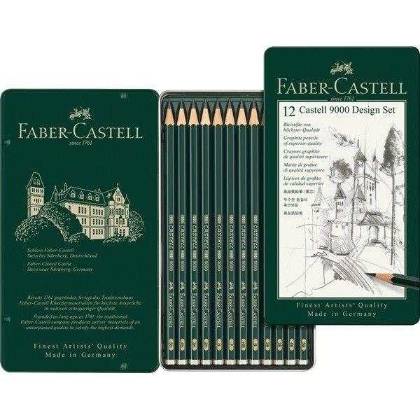 Faber-Castell 12 parasto zīmuļu komplekts