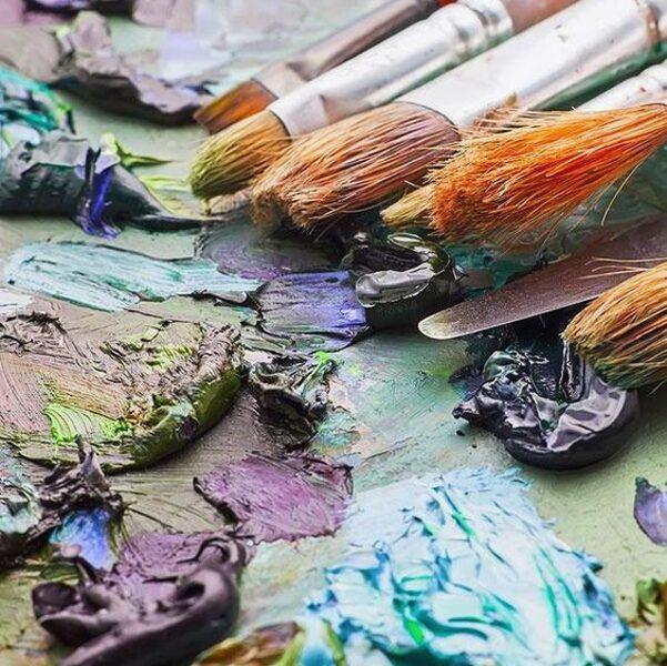 "No 07.10. ""Gleznošana ar akrilu""/ Rīta grupa"
