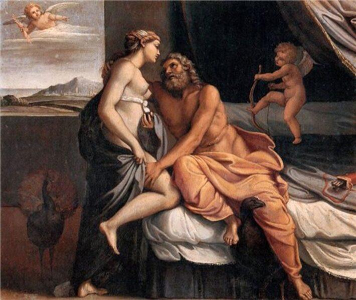 17.11./18.30/ Как читать шедевры: похождения Зевса в искусстве с Анной Егоровой