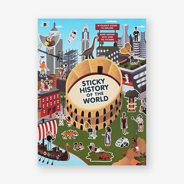 Uzlīmju grāmata: Sticky History of the World