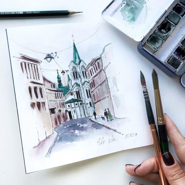 18.08. Sketching Rīgā ar N.Jakovlevu/MIX/ OTRDIEN 18:00-20:00