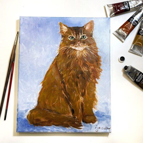 """Video-pamācība """"Kā gleznot dzīvniekus"""" /eļļas krāsas"""