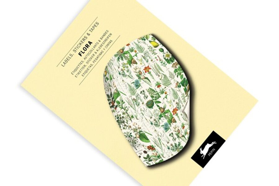 Flora: Label, Sticker & Tape Book