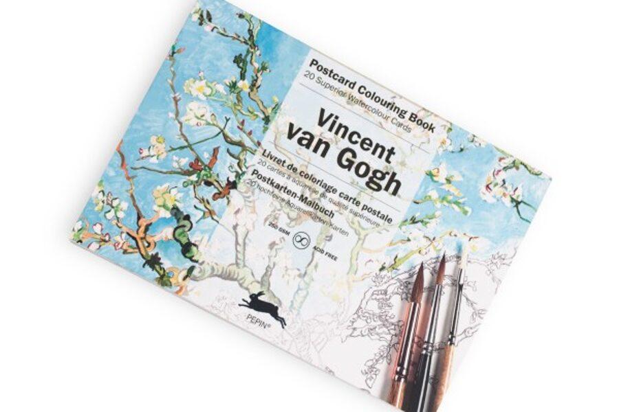 Vincent van Gogh krāsojamās kartiņas