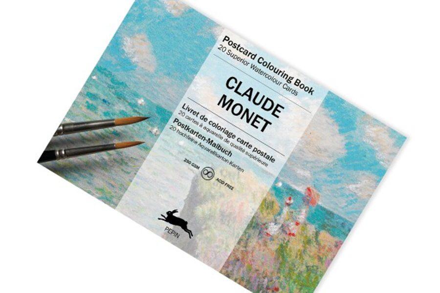 Claude Monet krāsojamās kartiņas