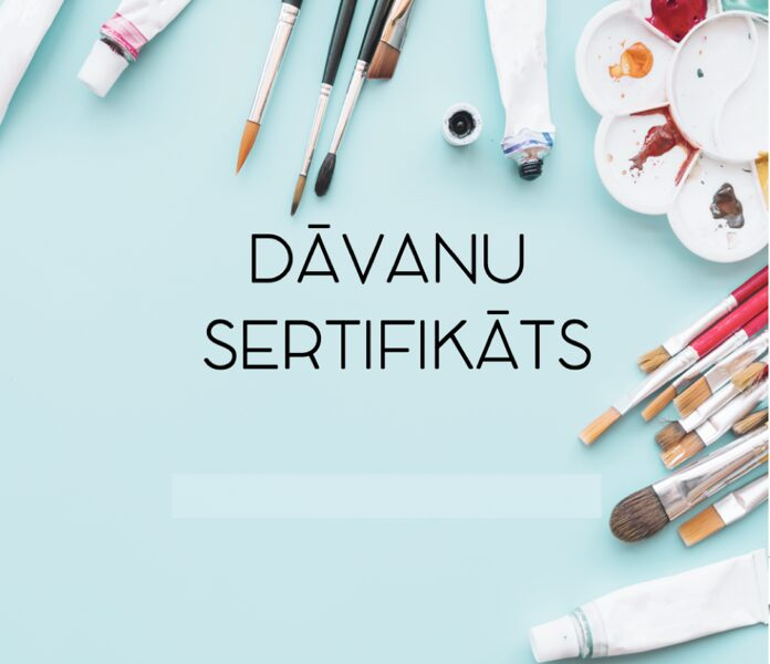 DĀVANU SERTIFIKĀTI