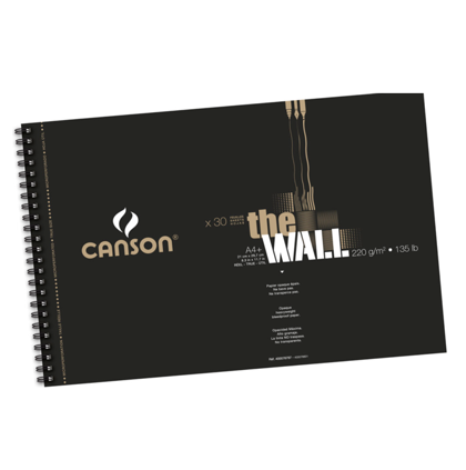 Zīmēšanas bloks Canson The Wall A4