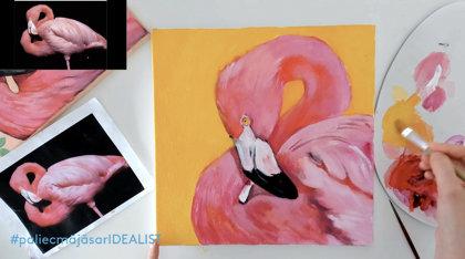 """Komplekts nodarbībai """"Flamingo"""""""