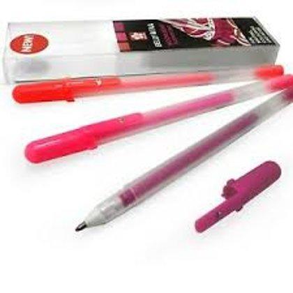 3 gēla pildspalvu komplekts Gelly Roll Moonlight Fluorescent