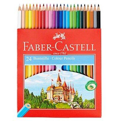 Krāsainie zīmuļi Faber-Castell 24