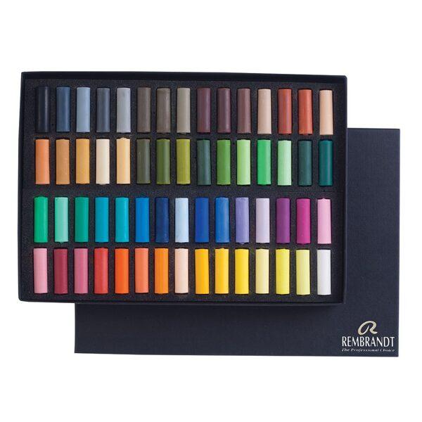 Pasteļkrītini REMBRANDT: 60 krāsas 1/2 STICK (Pusītes)